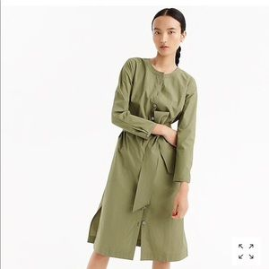 Like New!! J. Crew Long Sleeve Shirtdress